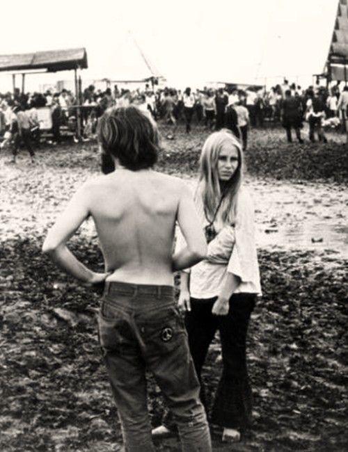 Woodstock Festival. 1969.