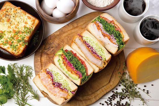 こだわりの自家製パンにぎっしり国産野菜・果物を挟んだボリューム満点のクラフトサンドイッチ専門店10/25OPEN@大阪|プレスリリース配信サービス【@Press:アットプレス】