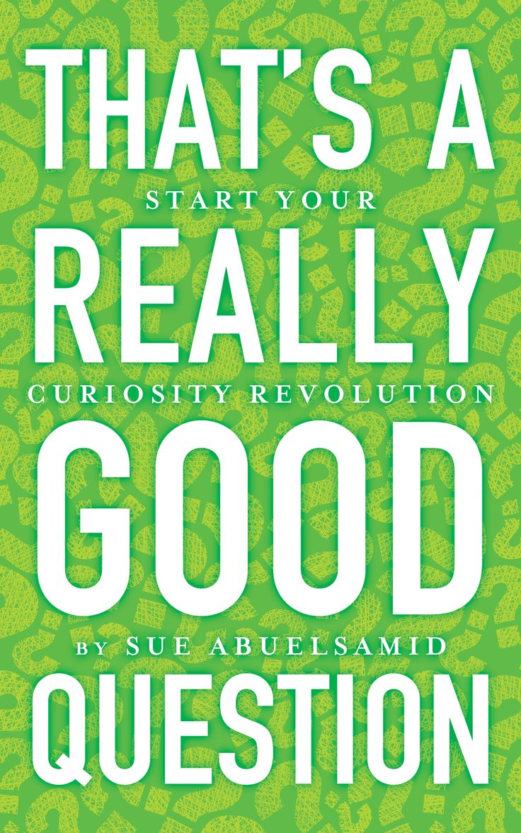 A book to help you start your curiosity revolution!