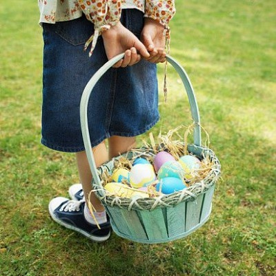 Need a quick Easter Basket Idea?! Read these 9 Unique basket and egg filler ideas!