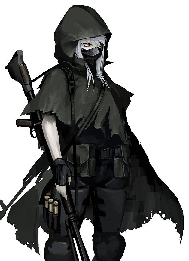 hooded female assassin - Google Search | Art | Pinterest ...