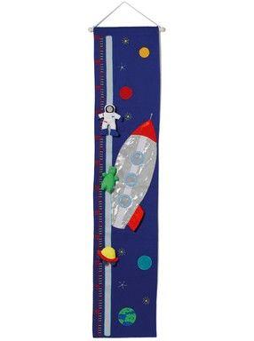 Mätsticka rymdskepp - Oskar&Ellen