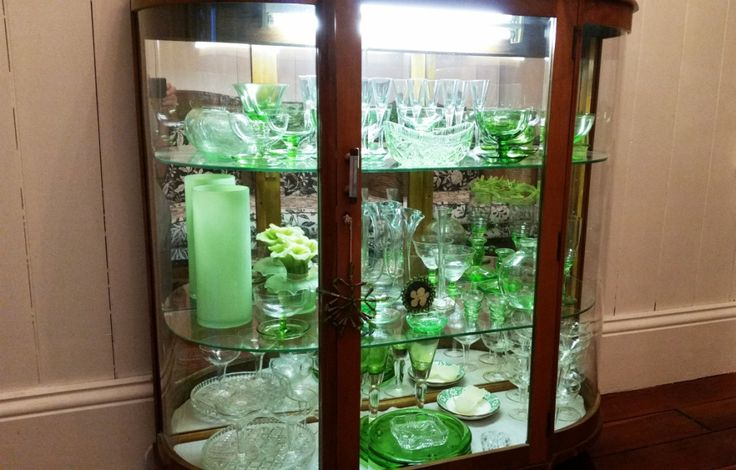 My china cabinet............ before....