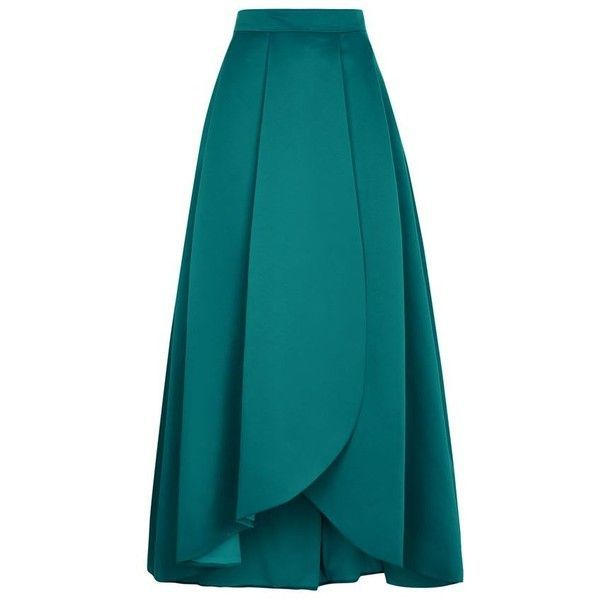 Pinko Coral Ball Gown Skirt (680 AUD) ❤ liked on Polyvore featuring skirts, bottoms, maxi skirts, high low maxi skirt, long skirts, full skirt, long pleated skirt and blue skirt