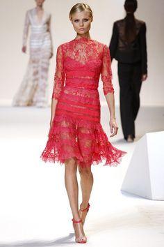 Elie Saab S/S 2013, Paris Fashion Week
