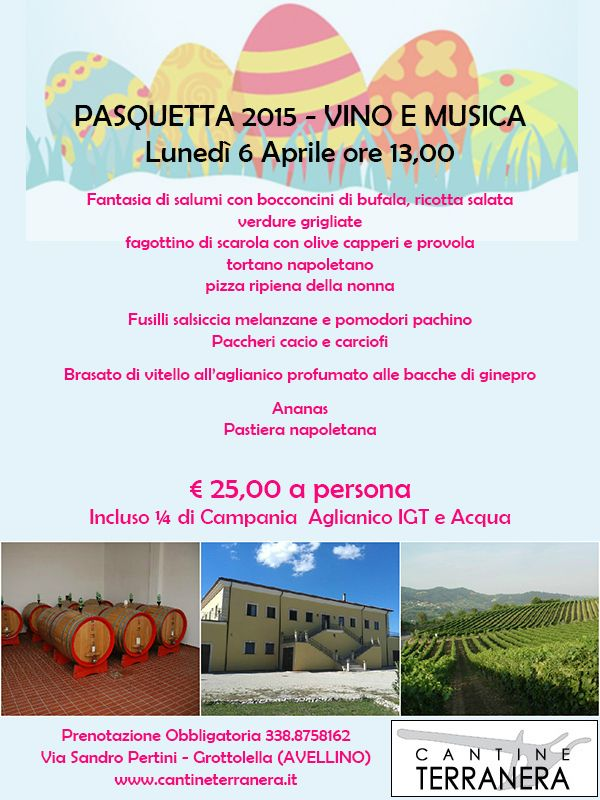 Pasquetta 2015 _ VINO E MUSICA IN CAMPAGNA