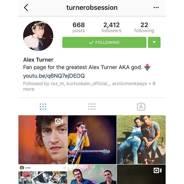 kurtcobain_official_/2016/10/09 02:32:30/If you love the Arctic monkeys 🐒 go follow my fave page @turnerobsession @turnerobsession @turnerobsession  For great pics and videos and some new stuff ❣️❣️#arcticmonkeys #alexturner #mileskane #thelastshadowpuppets #tlsp