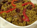 Arroz con Calamares  Puerto Rican Recipes brought to you by the Rican Chef