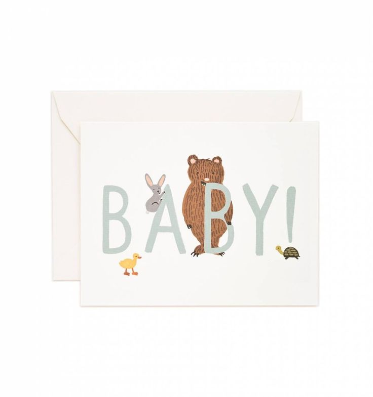 Gorgeous little baby card- perfect for congratulating new mums & dads! www.moss.ie Online or pop into us in Dundrum village, Dublin.
