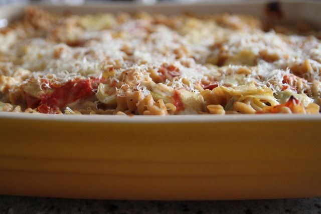 chicken_artichoke_baked_pasta5 | Healthy Eating Recipes | Pinterest
