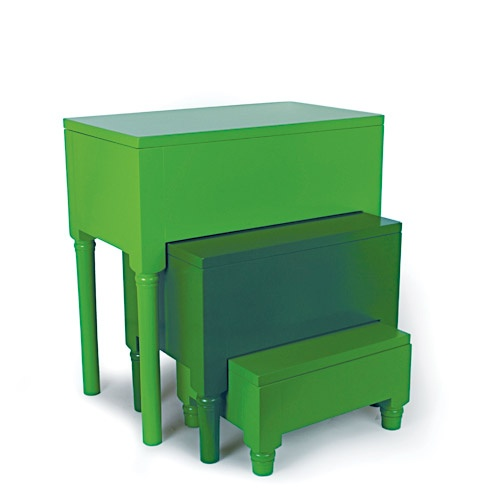Area Ware nesting tables.
