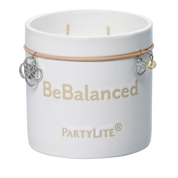 Be Balanced By Partylite Be Energized Eucalyptus Peppermint Jar Candle In 2020 Candle Jars Party Lite Candles Partylite