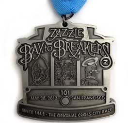 The Zazzle Bay to Breakers 12k is one of the world's largest and oldest footraces, held annually in San Francisco, California. The 7.46 mile (12 km) race features world-class athletes in addition to costumed runners and 'fun-loving' folks out for a great day of running and walking through San Francisco.