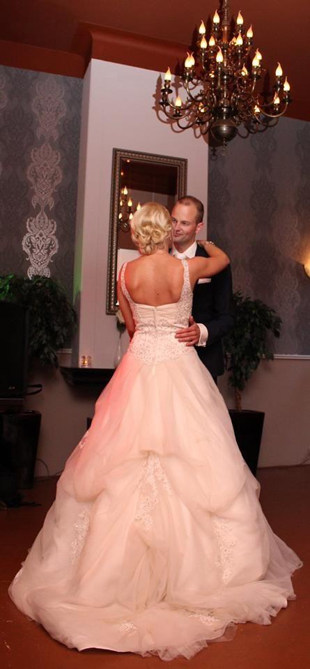 De eerste dans, als getrouwd paar