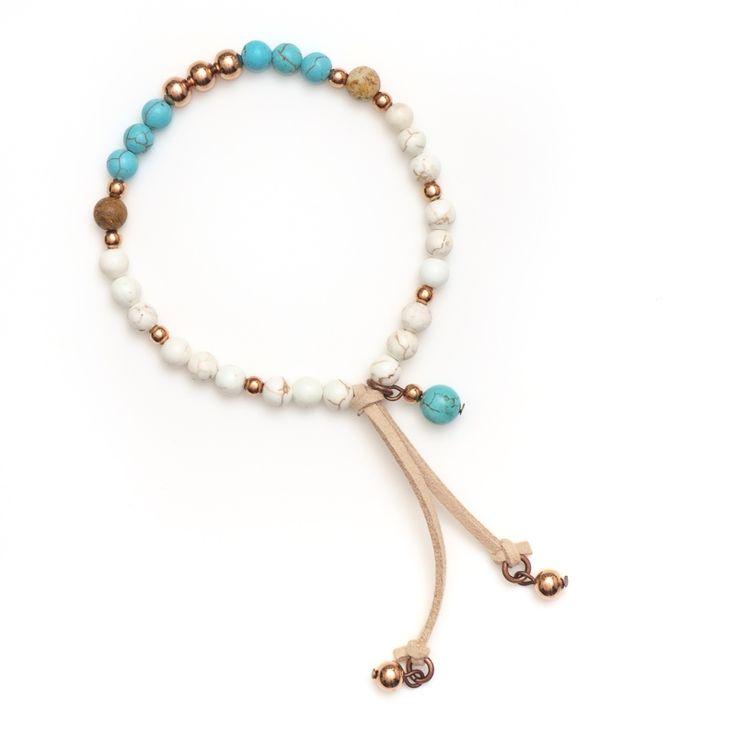 xada jewellery - Sorrento White stone beaded bracelet , $31.95 (http://www.xadajewellery.com/shop-by-collection/xada-white-stone-beaded-bracelet/)