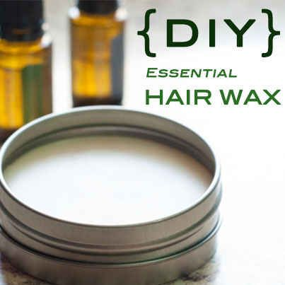 Add texture and style to hair with DIY hair wax