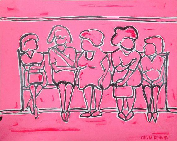 Artist: Olivia Denahy Friendship