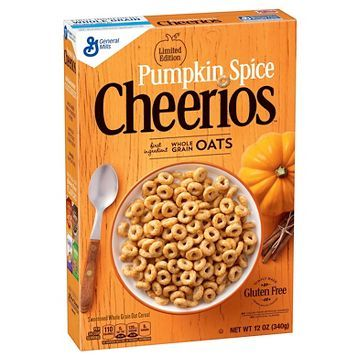 Pumpkin Spice Cheerios Cereal - 12 oz - General Mills