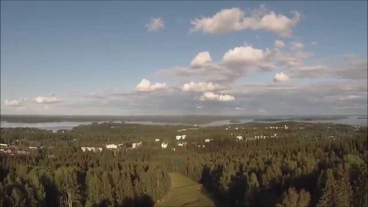 Video highlighting FIS Continental Cup Ski Jumping event in 2014 summer at Puijo, Kuopio, Finland. Also shows Puijo's 9-hole par 3 training golf course.
