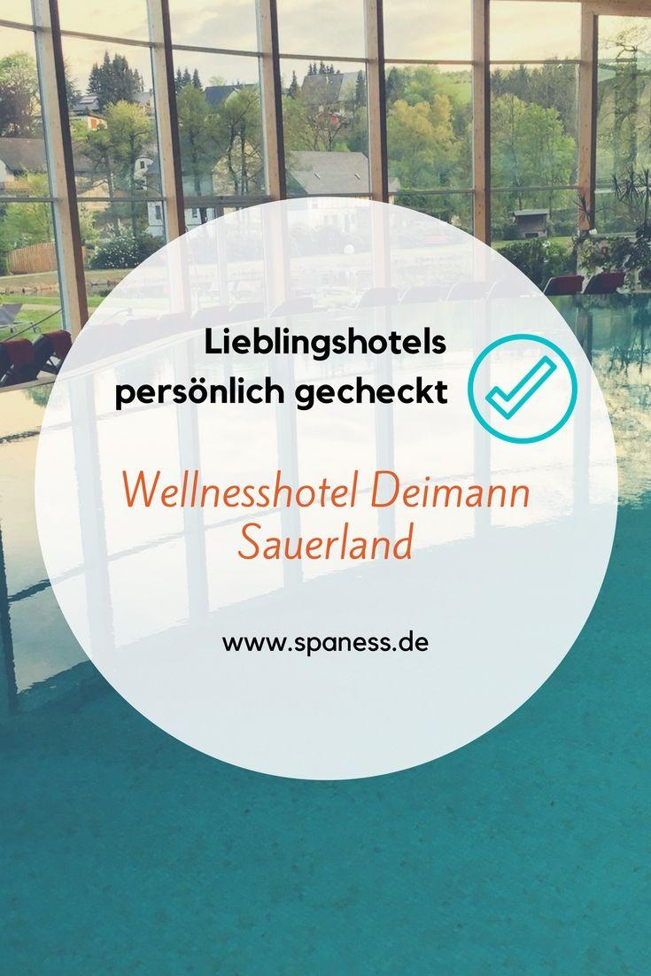 Lieblings Wellnesshotels Deutschland - gecheckt Wellnesshotel Deimann Sauerland