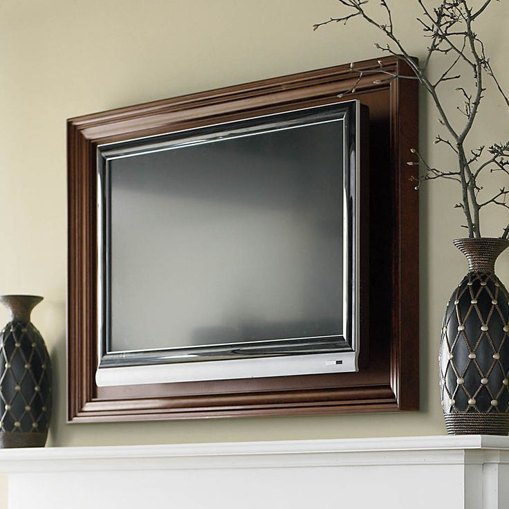 Lovely Louis Philippe Wall Mounted TV Frame   Love A TV That Looks Like Art! |  Home Sweet Home. | Pinterest | Tv Frames, Mounted Tv And Wall Mount
