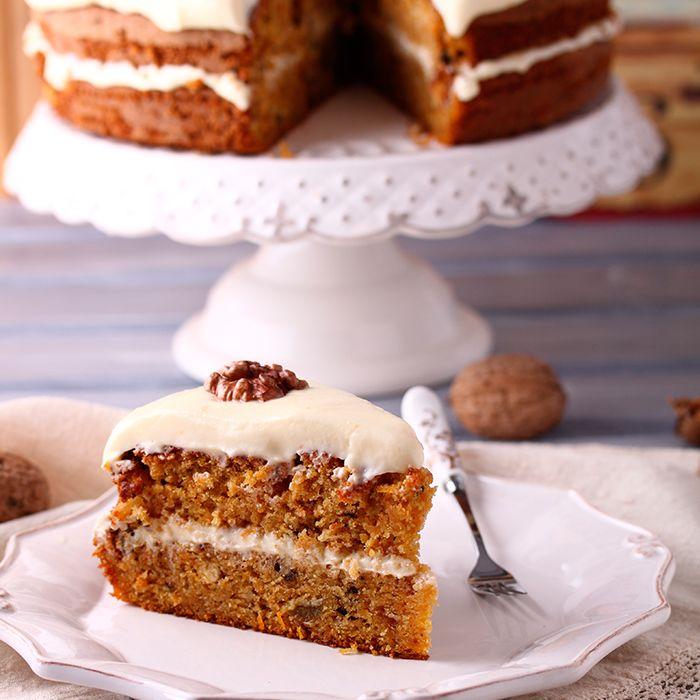 Snowflake carrot cake recipe