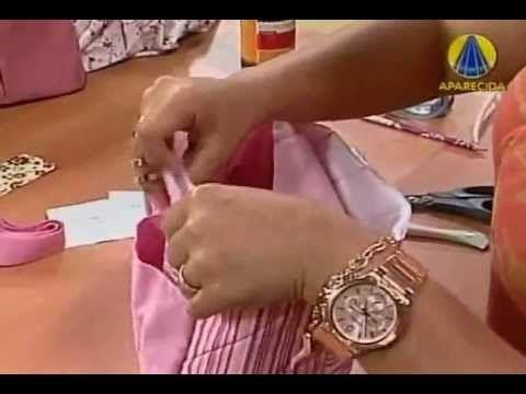 Aprenda a fazer um organizador de bolsa | Cantinho do Video