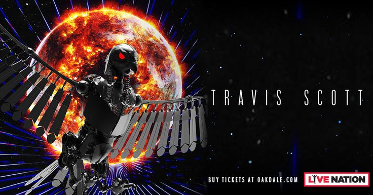 I just entered for a chance to win 2 tickets to Travis Scott at Toyota Oakdale Theatre on April 27th!