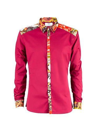 Kitenge Men's Shirt | Diaspora Interlink Online Store
