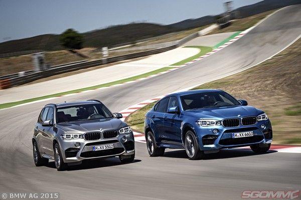 190 foto delle nuove BMW X5 M e BMW X6 M