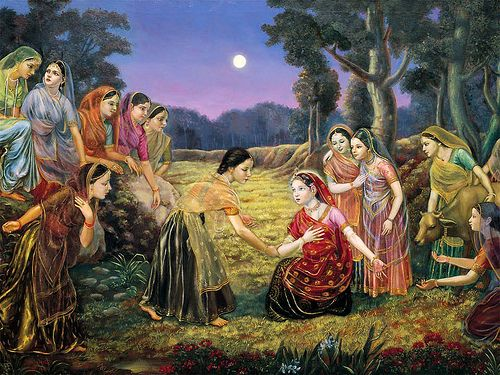 Gopis' complaints about Sri Krishna to Yashoda