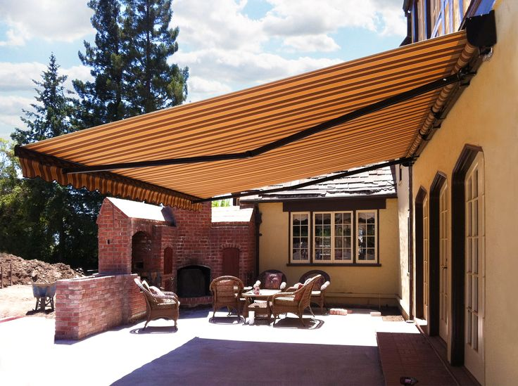 This Pictures Was Taken By Our Installation Staff After Completion. Before  They Leave The Home. Awning PatioIt ...
