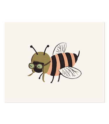Bug Print - Bee