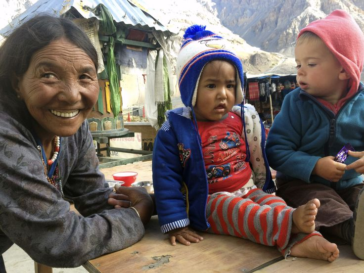 Between Kaza and Manali, India
