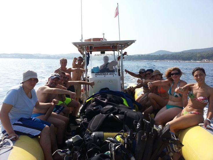 Diving Club ecosostenibile Toscana:Baratti Diving