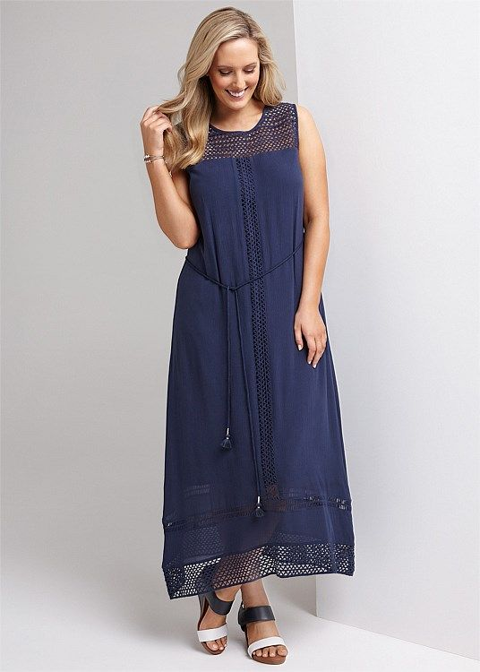 South Shore Maxi Dress #takingshape #plussize #curvy #virtuelle