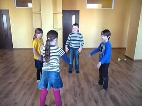 Taniec kurcząt w skorupkach, zabawa przy muzyce rytmika dla dzieci