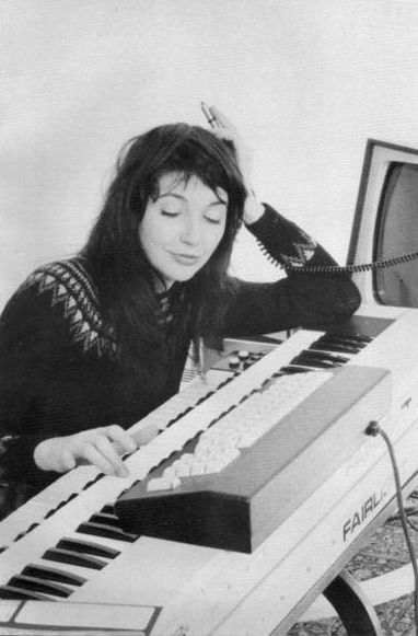 kate bush playing fairlight cmi:) xx k.