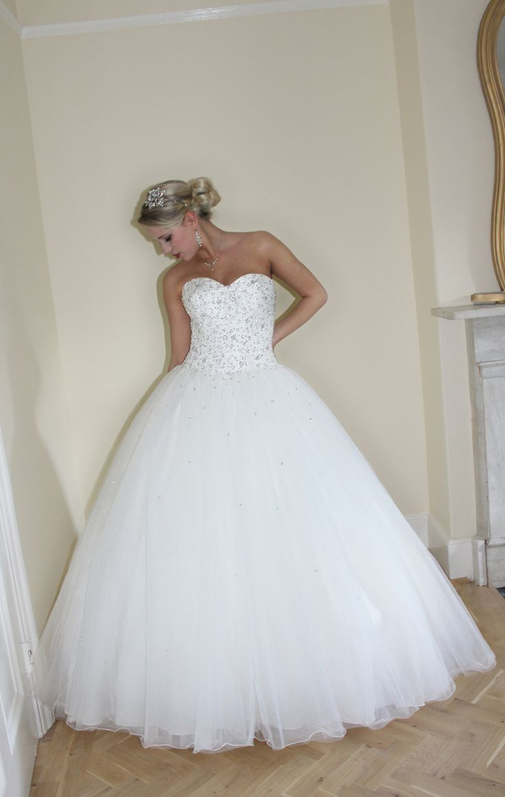 Style - Princess tulle.  To book an appointment, please feel free to contact us at: info@newbeginningslondon.co.uk. Alternatively, you can phone us on: 01277 229 388.