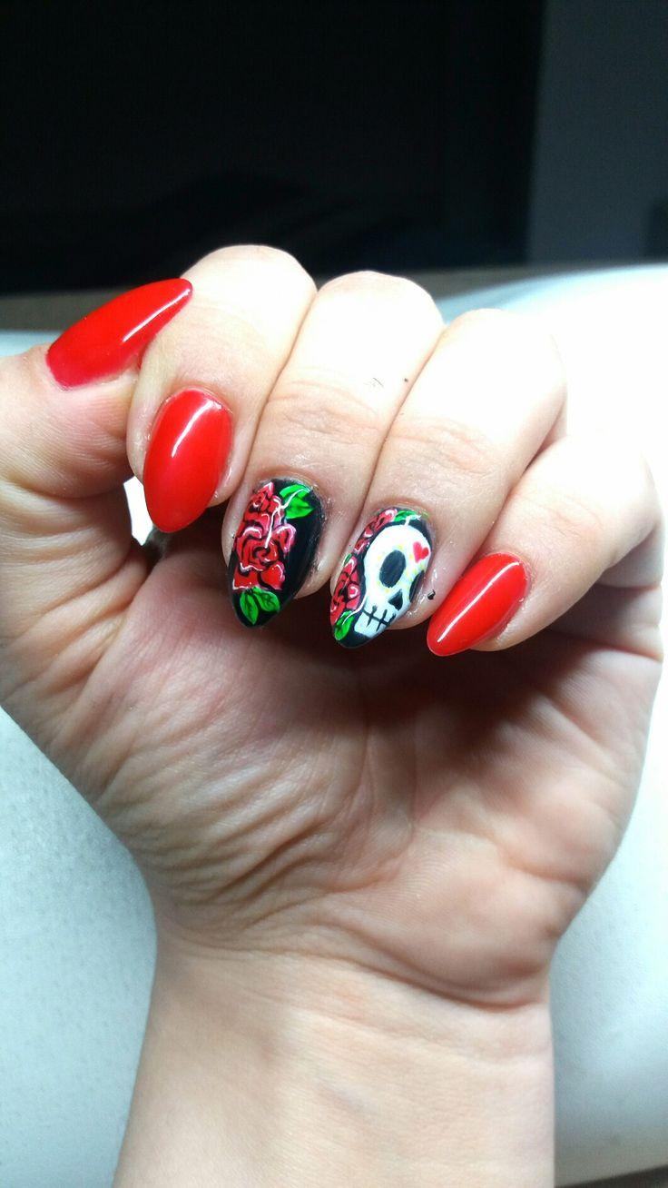 tatooed nails  https://www.facebook.com/nailartdesignsalice/