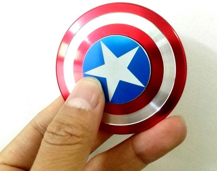 Stresszoldó pörgettyű, szuper ügyességi játék MARVEL Amerika Kapitány...-Akciós ár:2790 Ft