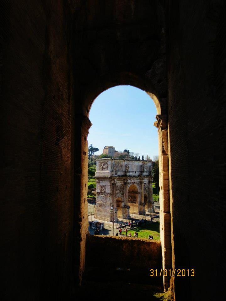 Arc de Constantine, Rome
