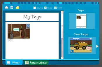 Toys Past and Present - Make Your Own Information Book. An engaging and creative activity for the interactive whiteboard. Perfect for teaching writing skills and learning about working vehicles. This activity is also perfect for group work and will be engaging for a whole classroom. Ages 7-9.