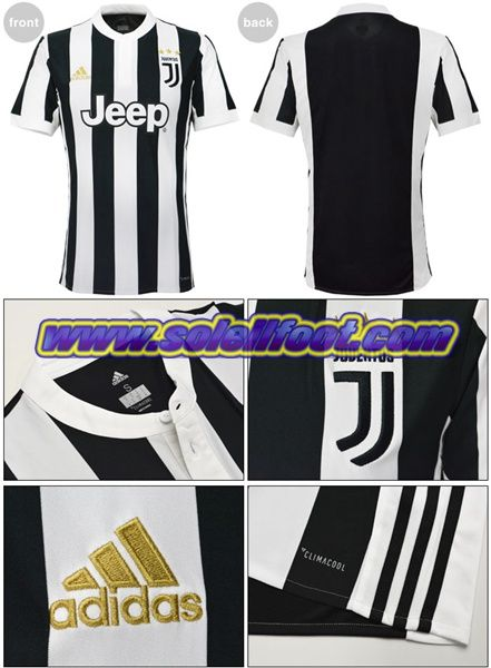 maillot Adidas Juventus JUV Enfant Domicile 2018 2017 petit Prix Shopping