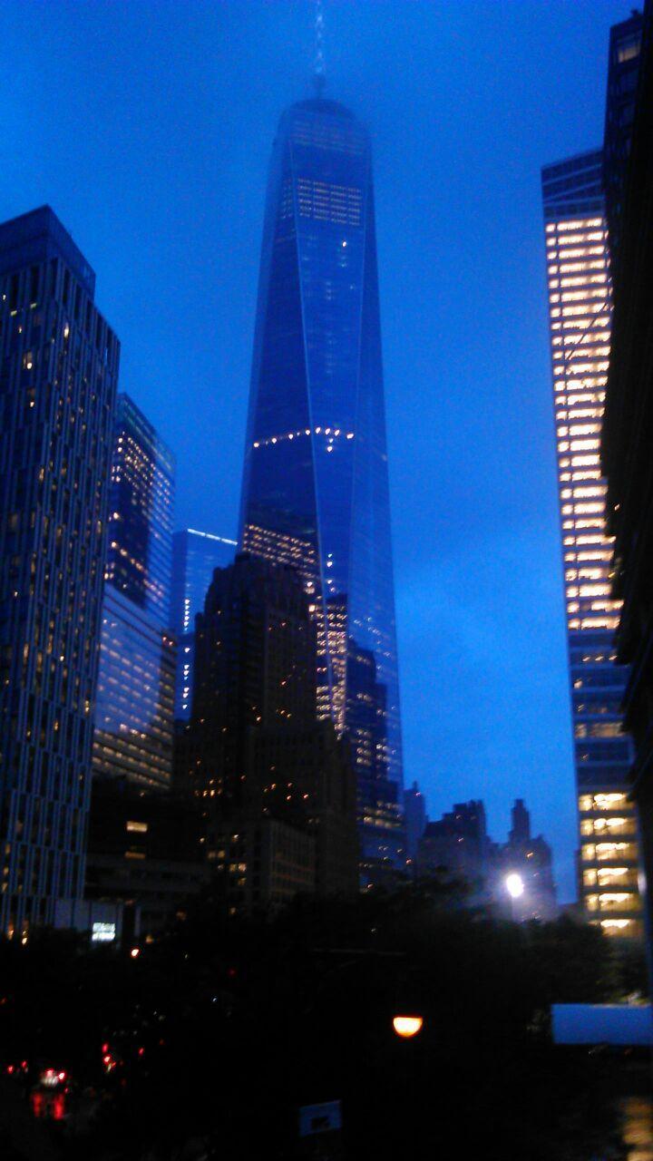 New york, notturna.