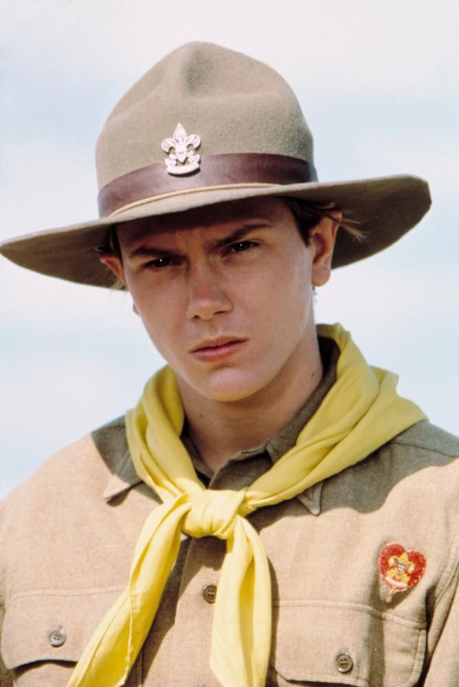 INDIANA JONES AND THE LAST CRUSADE, River Phoenix, 1989 | Essential Film Stars, River Phoenix http://gay-themed-films.com/river-phoenix/