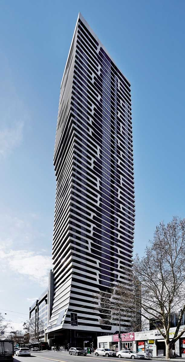 My80 A Residential Apartment Building In Melbourne