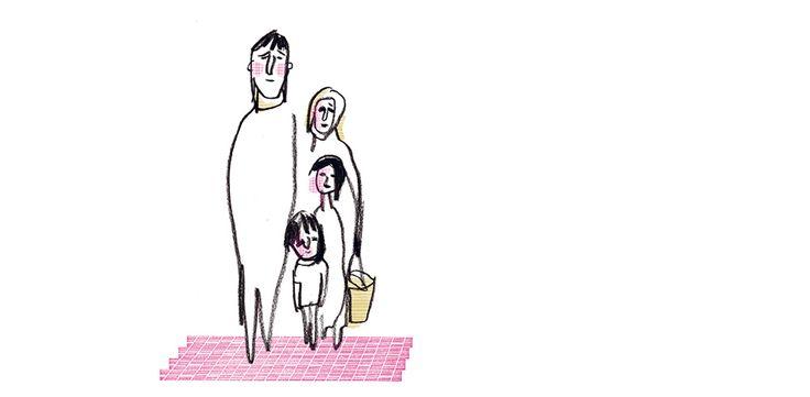 """Ecrit par Daniel Pennac, illustré par Serge Bloch, """"Eux c'est nous"""" est le fruit du travail collectif de plusieurs éditeurs jeunesse."""