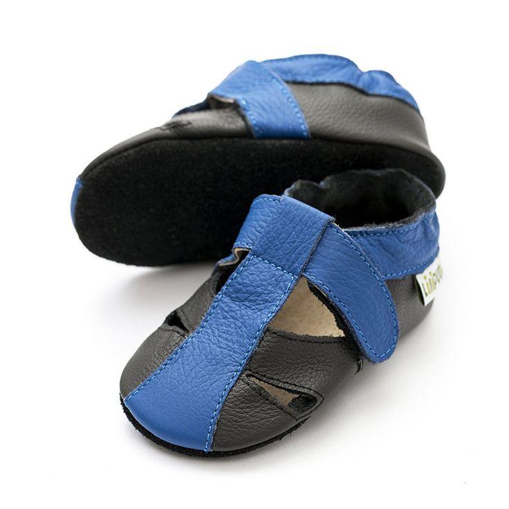 Atacama Black  http://www.liliputibabycarriers.com/soft-leather-baby-sandals/atacama-black