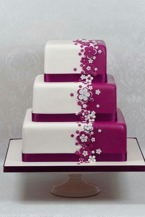A colorblocking cake I can actually see myself doing. And doing well.